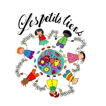 création logo lettres peintes